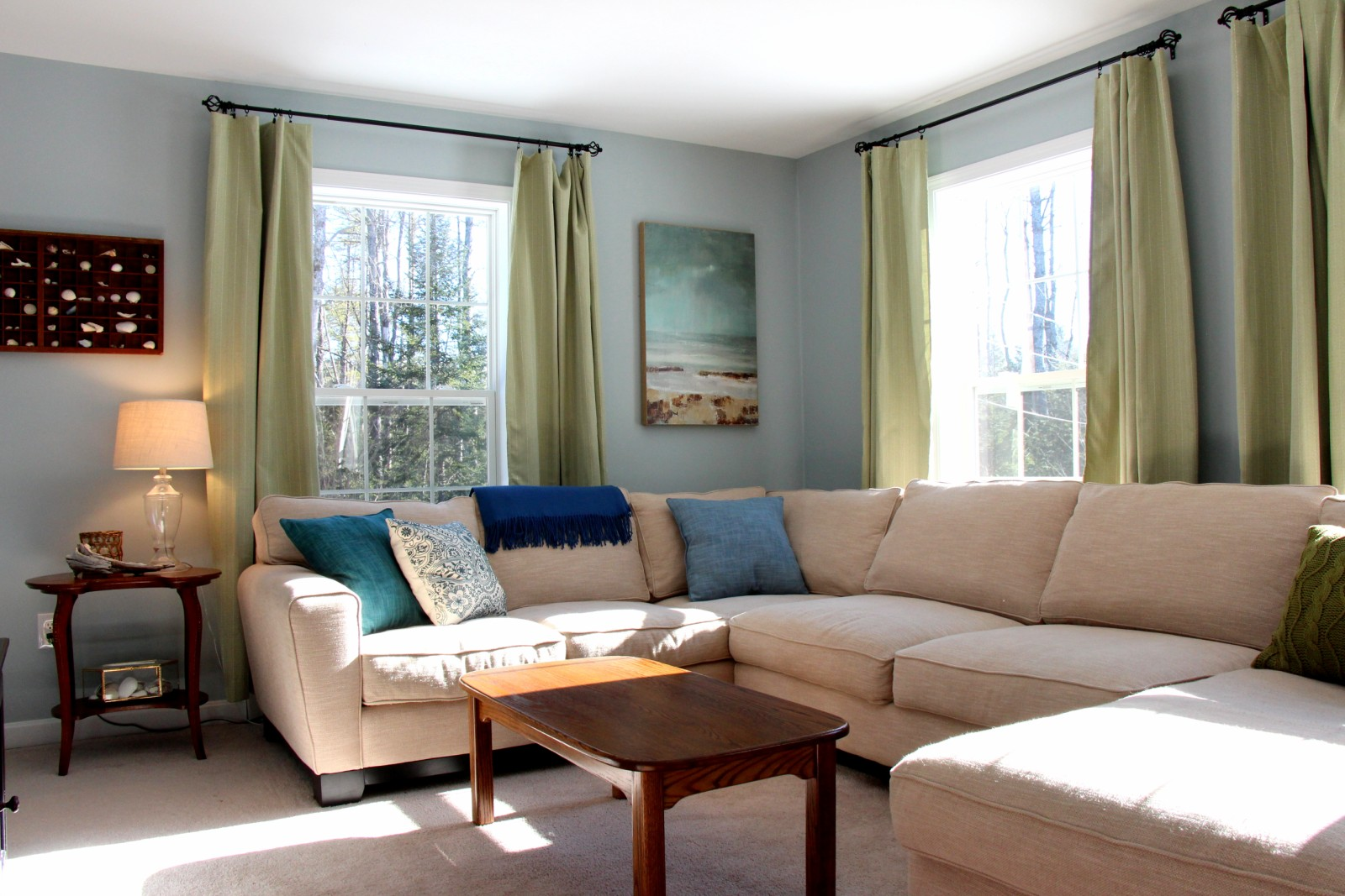 Heart Maine Home Living room update